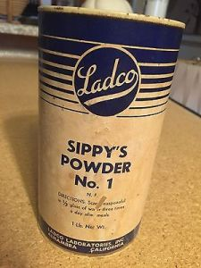 Ladco-Laboratories-Inc-Sippys-Powder-Vintage