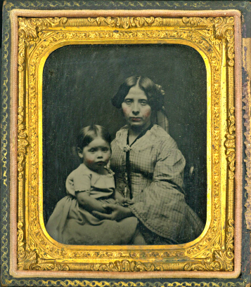 Madeleine Cleaver with Sophie circa 1860