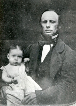 Madeleine Cleaver with William circa 1858